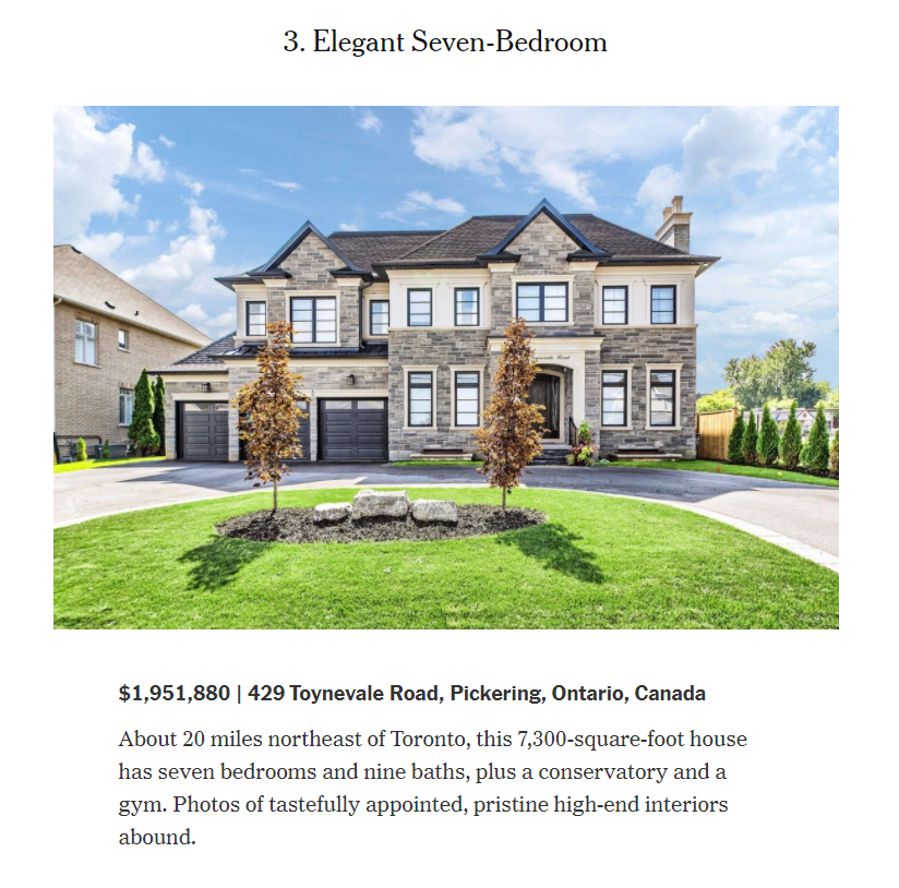 Elegant Seven Bedroom